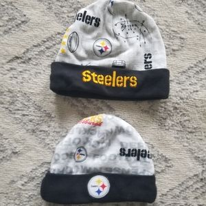 Pittsburgh Steelers 3 month hats bundle